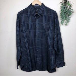 Tommy Bahama | Silk Blend Button Front Shirt